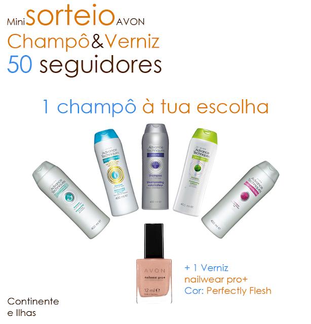 miniSorteio Champô&Verniz - 50 seguidores!
