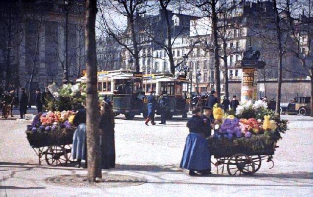 Place de la Madeleine - Leon Gimpel Mars