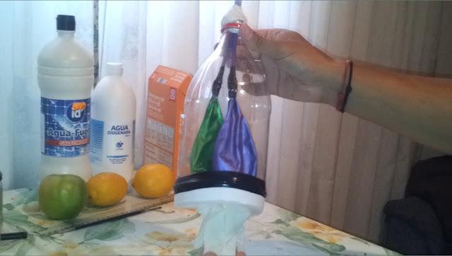 La botella que respira respiracion pulmonar experimentos caseros para niños