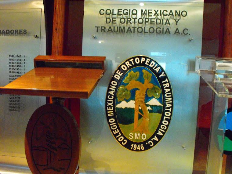 COLEGIO MEXICANO DE ORTOPEDIA Y TRAUMATOLOGÍA a.c.