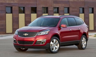 Chevy Traverse Makes List of Top Family Cars for 2014