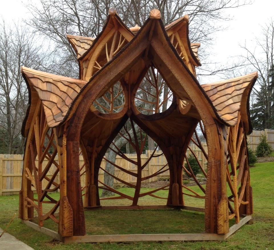 Eclectitude gazebo by creative carpentry for Creative gazebos