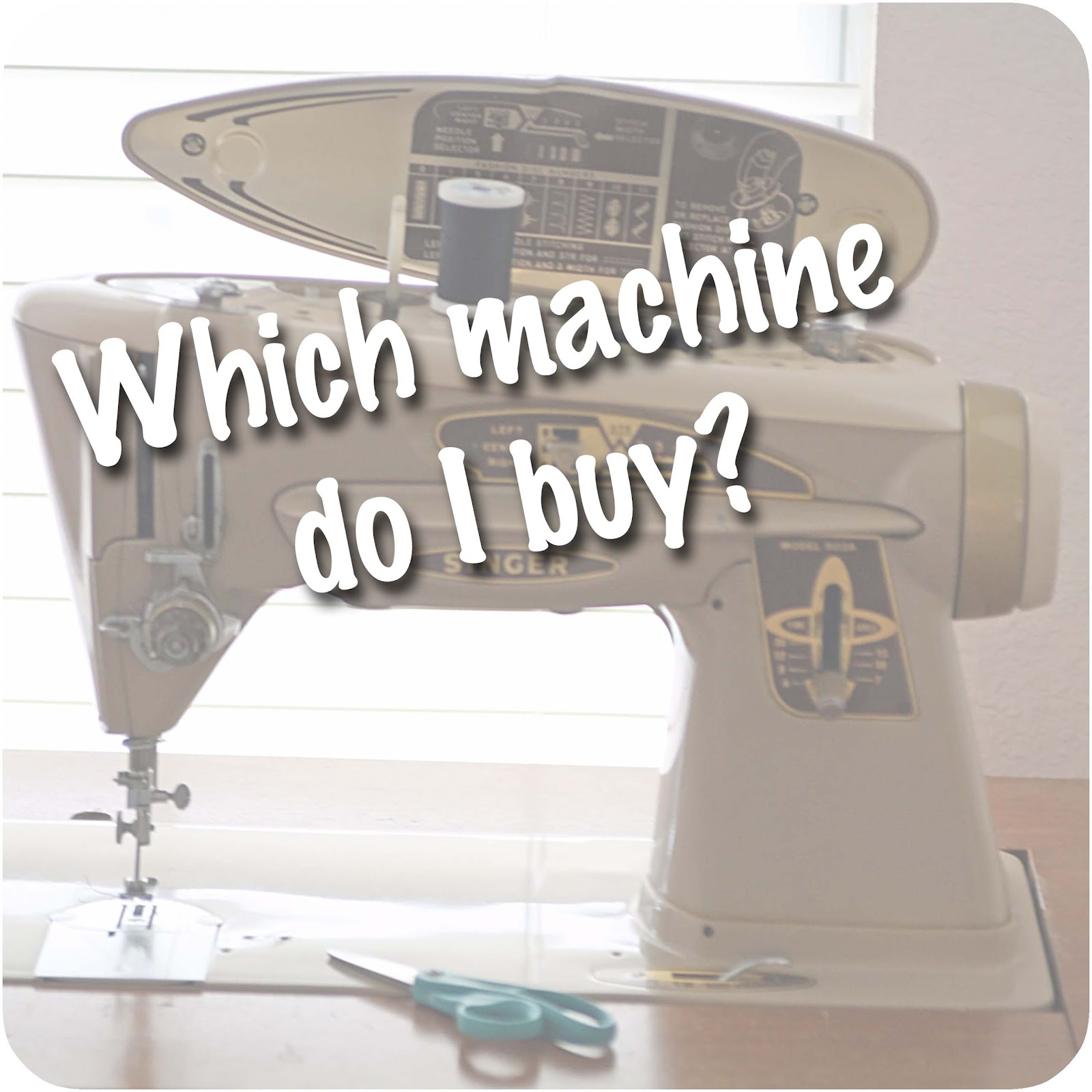 Which Sewing Machine Should I Buy? - Melly Sews