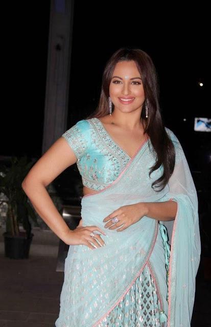 Sonakshi Sinha Stills At Tulasi Kumar Wedding Reception