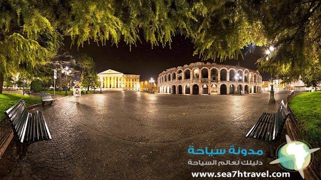 السياحة في مدينة فيرونا الإيطالية