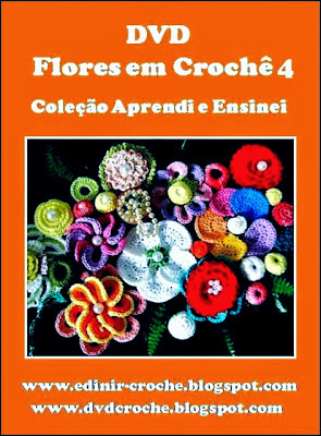 coleção dvd 5 volumes da coleção aprendi e ensinei com Edinir-Croche blog loja frete gratis