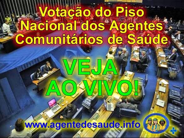 TV+SENADO+aovivo VOTAÇÃO DO PISO NACIONAL DOS ACS AO VIVO