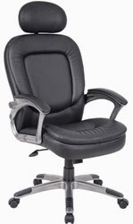 B7101 High Back Leather Conference Chair by Boss