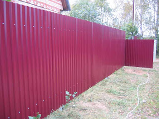 Забор из профлиста. Фото 4