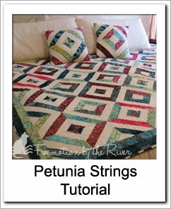 Petunia Strings Free Tutorial at Freemotion by the River