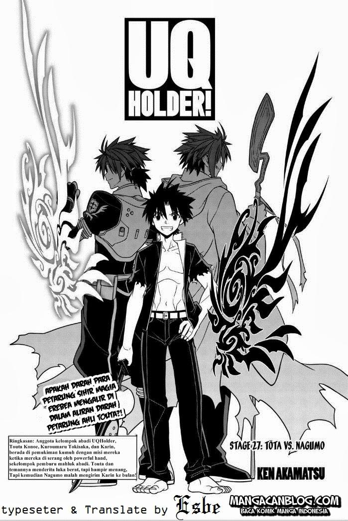 Komik uq holder 027 - Touta Vs Nagumo 28 Indonesia uq holder 027 - Touta Vs Nagumo Terbaru 0|Baca Manga Komik Indonesia