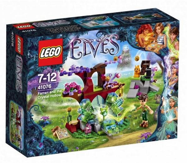 JUGUETES - LEGO Elves  41076 Farran y La Cueva de Cristal  Producto Oficial 2015 | Piezas: | Edad: 7-12 años