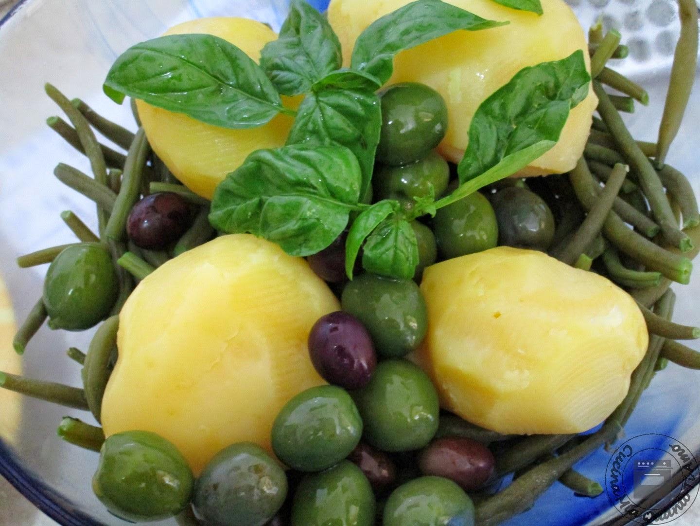 insalata patate e fagiolini
