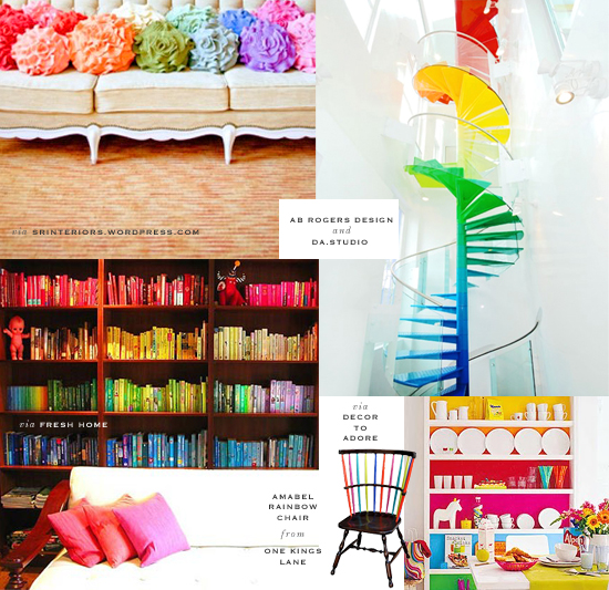 rainbow interior design