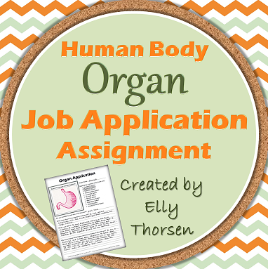 Organ Job Application
