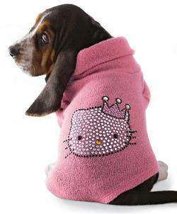 Hello Kitty pet dog jacket