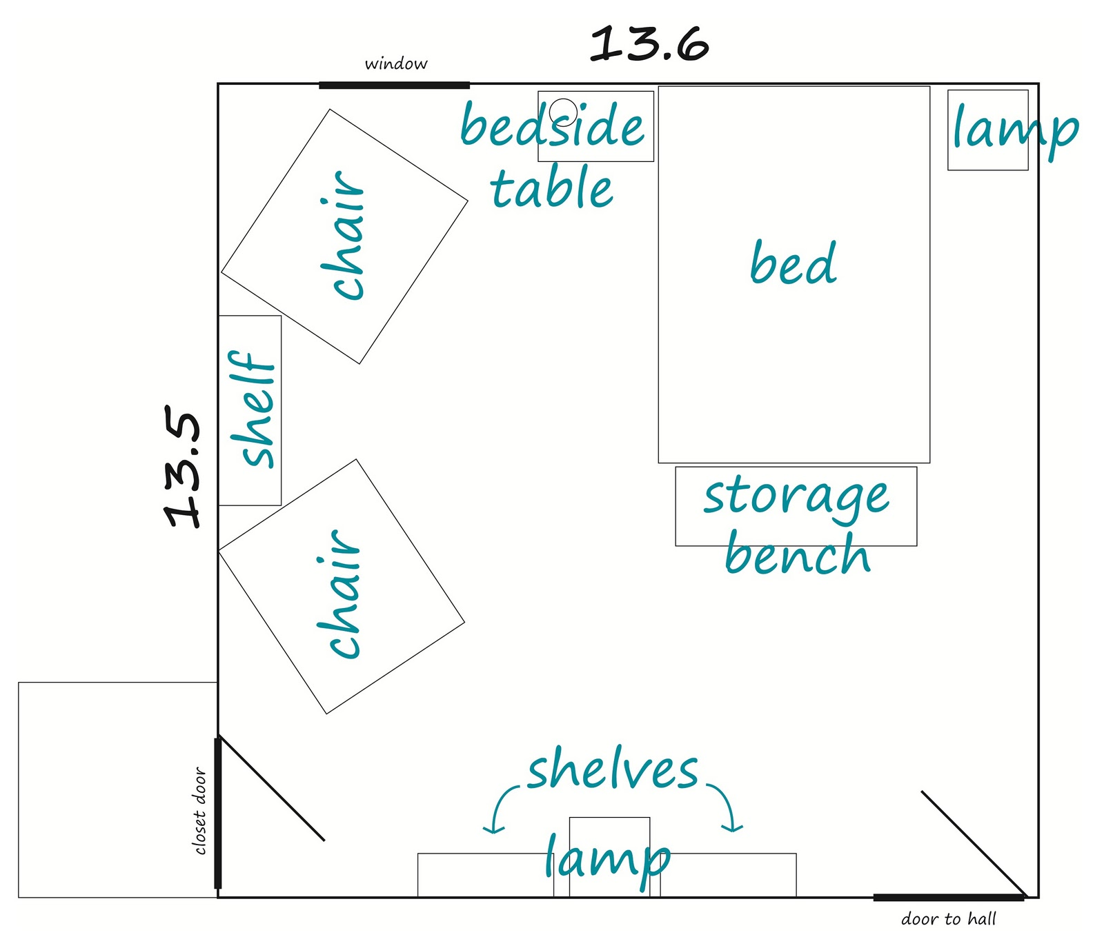 The Handcrafted Life To Scale Room Planning Guest Bedroom