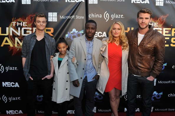Le cast Hunger Games au Mall Tour   224  AtlantaJack Quaid Hunger Games Character