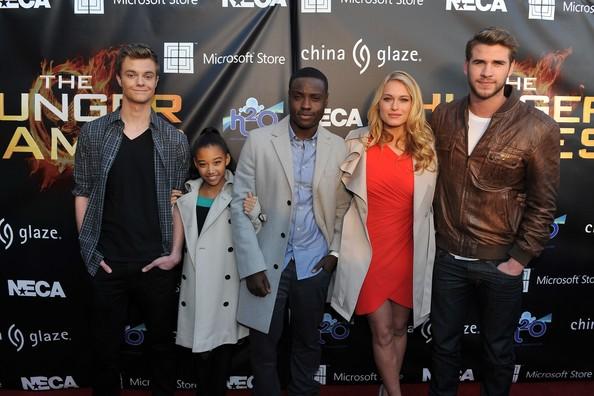 Le cast Hunger Games au Mall Tour   224  AtlantaJack Quaid Hunger Games Character