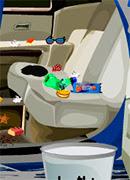 Уборка в папиной машине - Онлайн игра для девочек