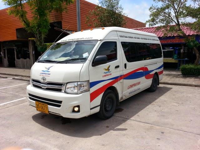 Minivan from Phuket to Samui