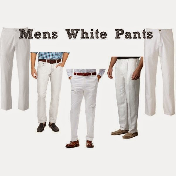 Dîner en Blanc: Mens White Pants | all dressed up with nothing to drink...