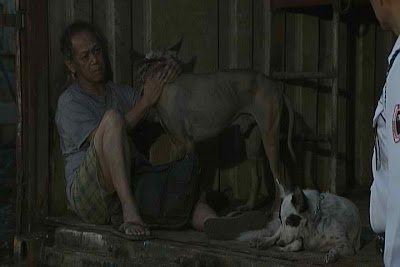 Nanding Josef as Lolo Jessie in MMK - an old man who chooses dogs over his family