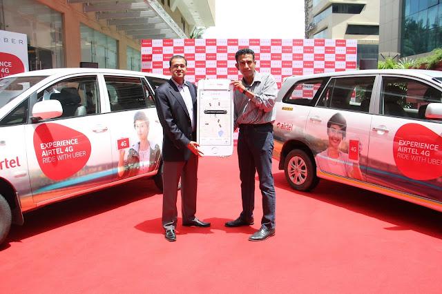 Bharti Airtel and Uber announce Strategic Partnership