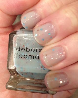 Deborah Lippmann, Deborah Lippmann Glitter In The Air, glitter nail polish, nail polish, nail varnish, nail lacquer, manicure, mani monday, #manimonday, nails