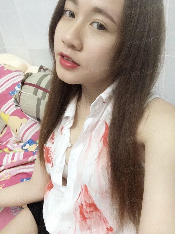gái xinh Thiên Trang Doly răng khểnh vú to 11