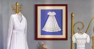 Three white dresses