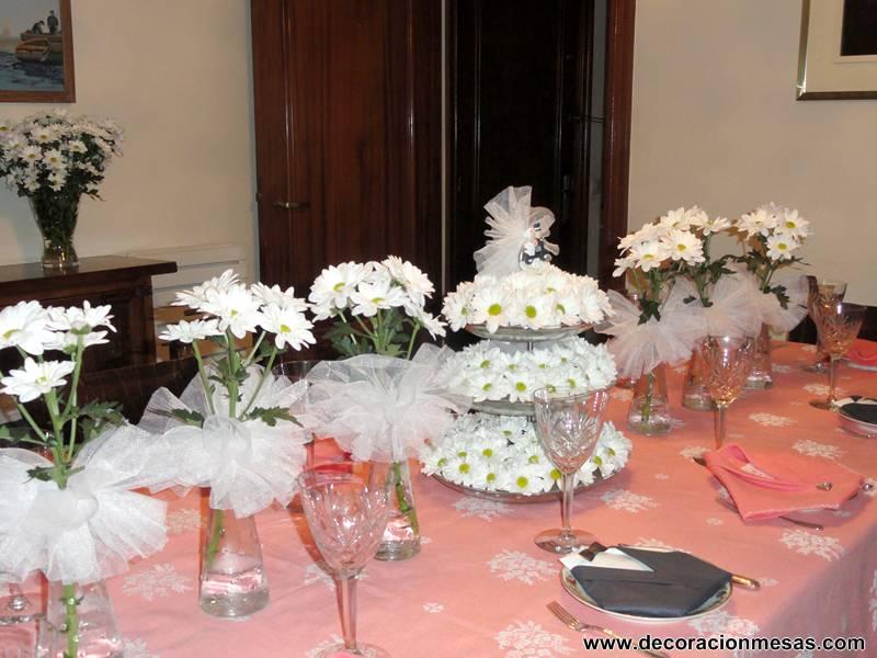 Decoracion de mesas mayo 2013 for Decoracion 40 aniversario de bodas