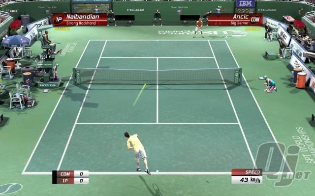 Virtual Tennis 4  PC בלינק 1 מהיר 6