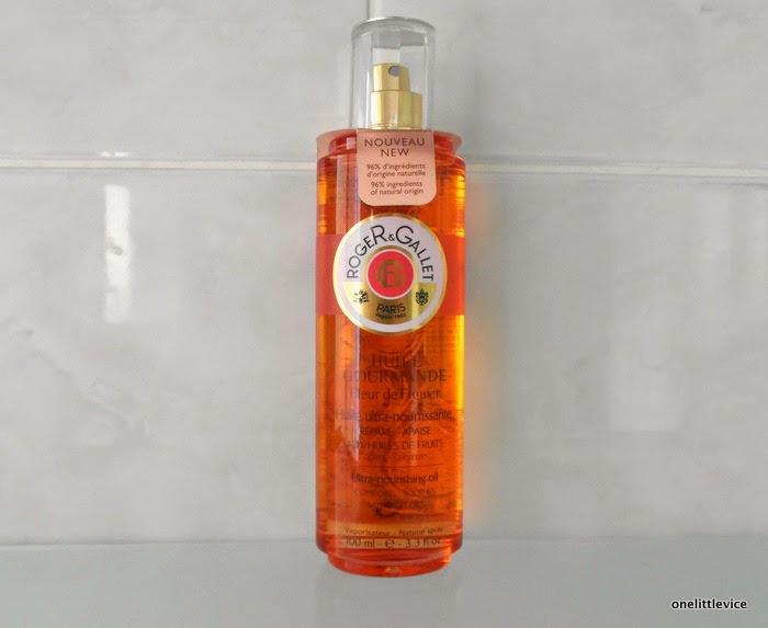 deeply hydrating fruity body oil