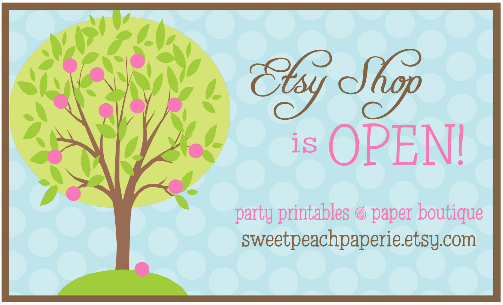 Sweet peach paperie archive uncategorized thank you for your continued business through this path change i am so thankful for all the orders and interest in my paper goodies but life with an kristyandbryce Gallery