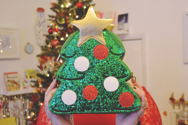 SkinnyDip ASOS Christmas Tree Bag