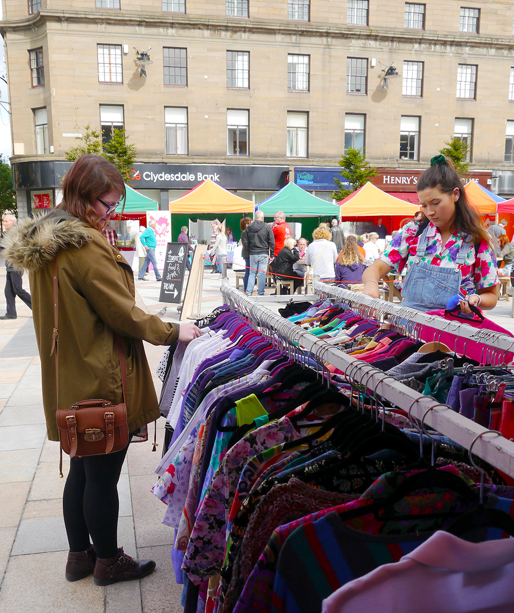 Dundee Pop Up Market, Pop Up Dundee, pop up event Dundee, market Dundee, shopping, Dreamland vintage