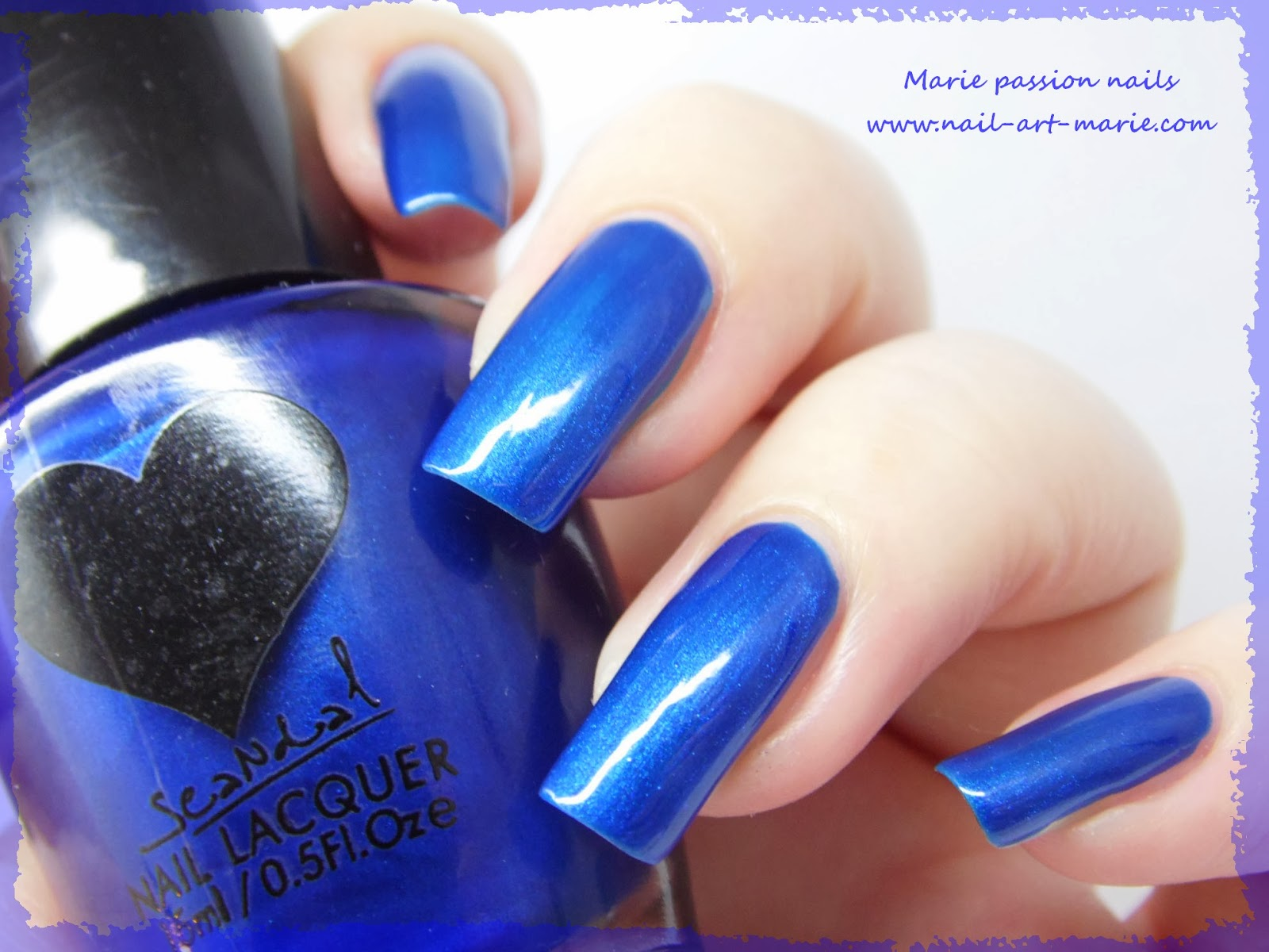 Vernis Scandal Sea Blue Pearl4