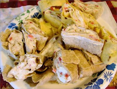 Hot Tortilla Pinwheels