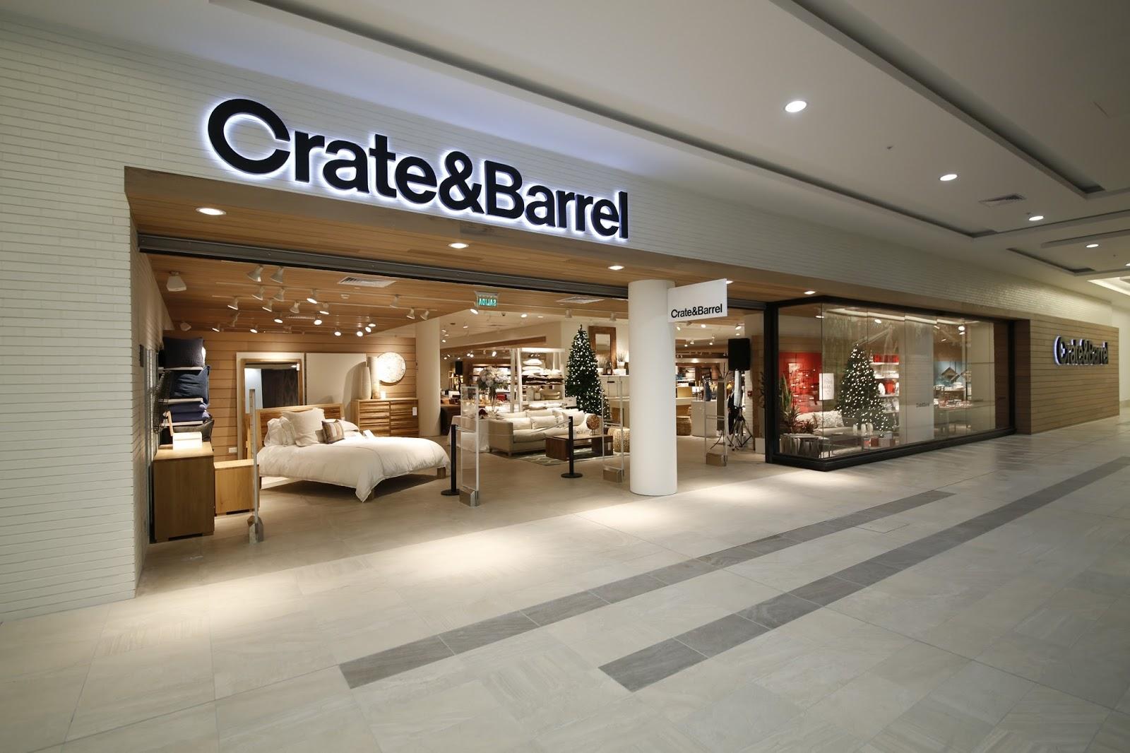 lainteriorista crate barrel. Black Bedroom Furniture Sets. Home Design Ideas