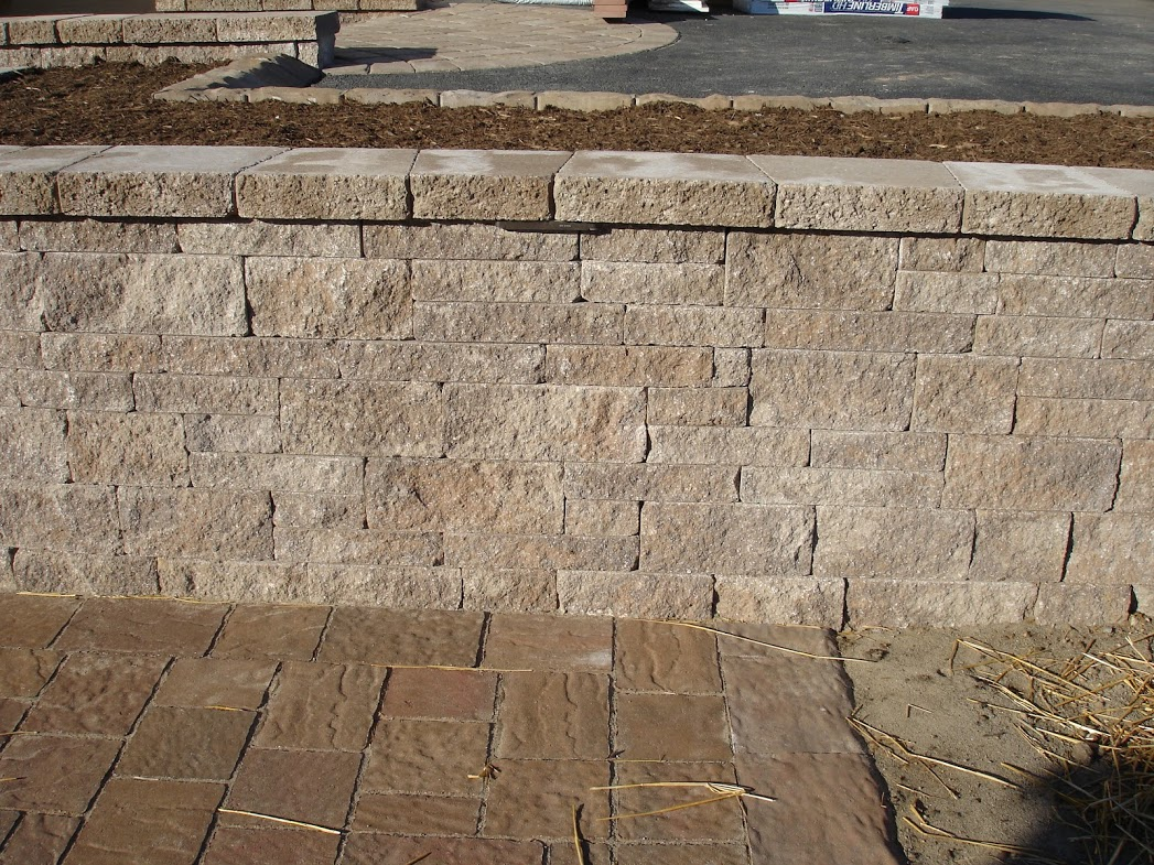 Life time pavers product techo bloc mini creta for Techo bloc