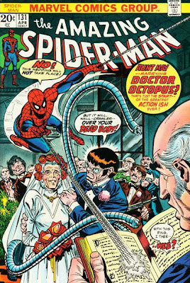 Amazing Spider-Man #131, Aunt May, wedding dress, Dr Octopus