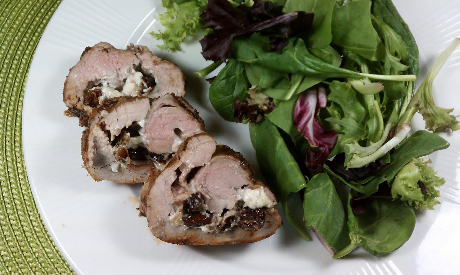 ... Pork Tenderloin: Figs & Blue Cheese OR Cranberries & Gorgonzola
