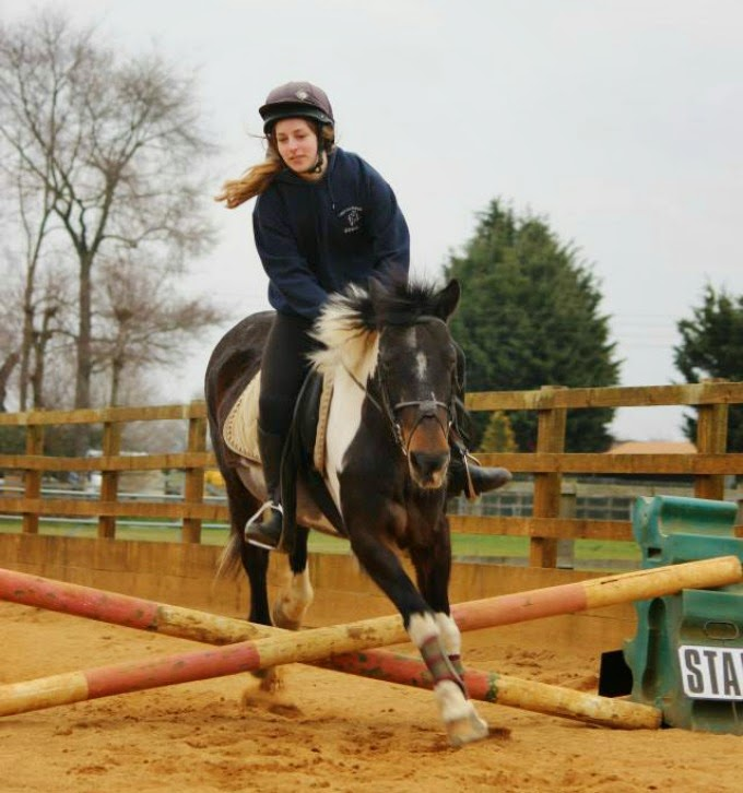 Showjumping a little pony