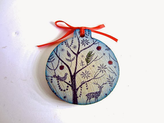 ozdoby choinkowe hand made inspiracje christmas ornaments inspirations