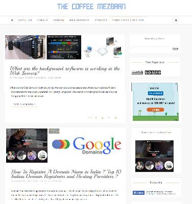 The Coffee Mezbaan-IT Blog