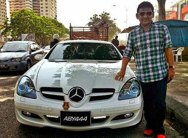 Ebby Yus Kini Bergelar Usahawan Berjaya, Miliki Mercedes Benz Sport