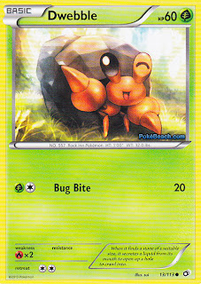 Dwebble Legendary Treasures Pokemon Card