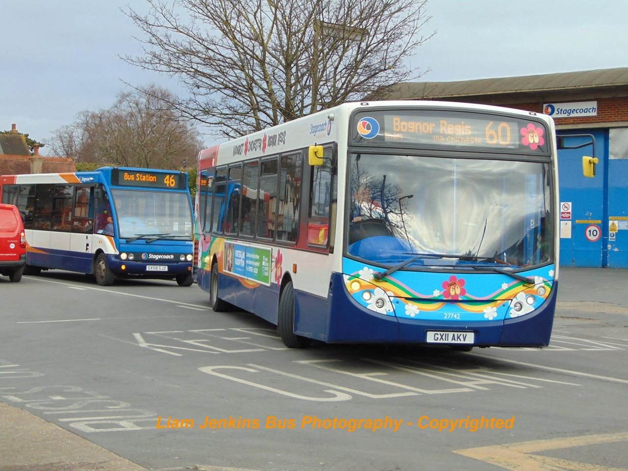 This Bus Has Now Reportedly Been Painted Into The New Coastliner 700 Livery But Not Fully