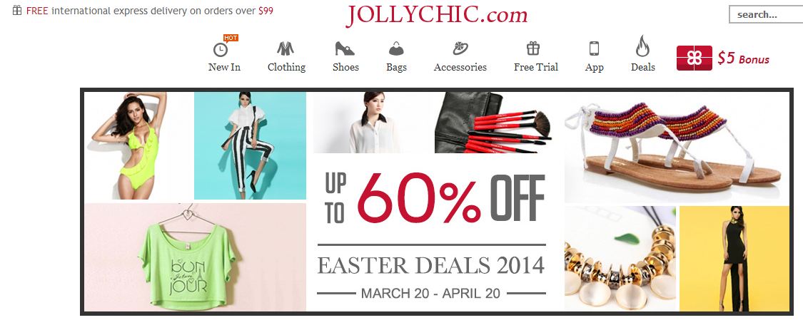 JollyChic Easter Promotion